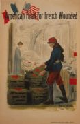 Vintage WW1 poster - American Fund for French Wounded.